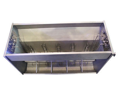 Double stainless feeder