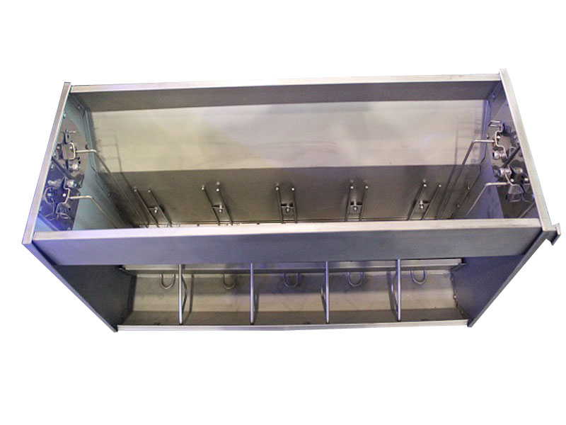 Double Sides Stainless Steel Feeder