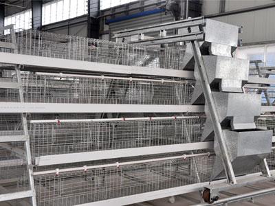 Chicken Farming Equipment A Type Chicken Cage System
